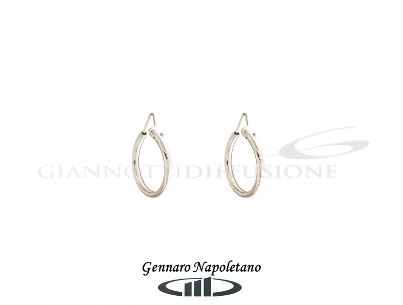 Rounded hollow cane hoops